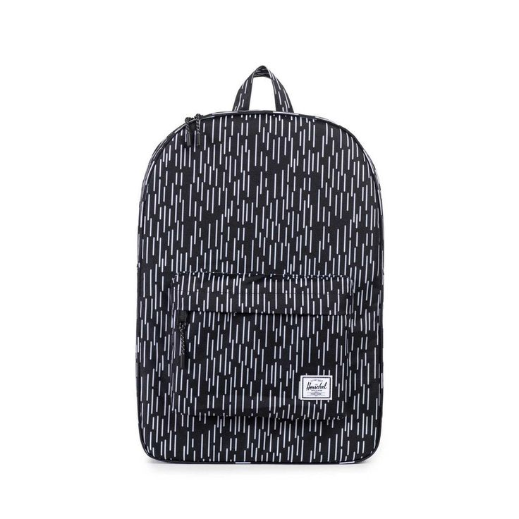 Herschel Supply Co. - Classic Backpack, Black/White Rain Camo
