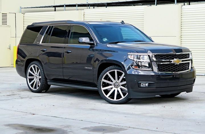 204 dark blue Chevrolet Tahoe SUV | Chevrolet tahoe, Chevy ...
