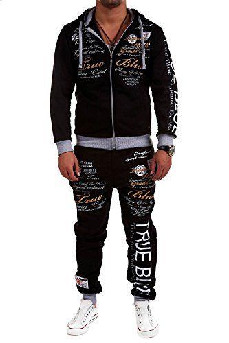 #MT Styles Trainingsanzug TRUE GRADE Sportanzug Hose R-508 [Schwarz, S] #Modeonlinemarkt.de