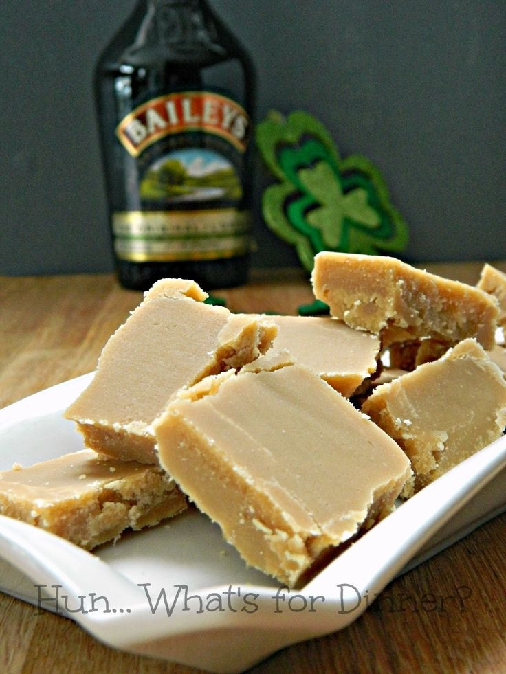 Hun... What's for Dinner?: Sucre a la Creme- Baileys Sugar Fudge- similar to fudge with a distinctly different grainy and crumbly texture.