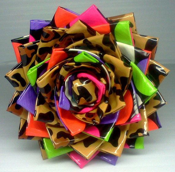 Duct Tape Flower Pen - Leopard/Neon: Flower Pen One, Duct Tape Flowers Pens, Diy Pens, Duck Tape Pens, Duct Tape Flower Pens, Ducktape Flower, Art, Duct Tape Pens