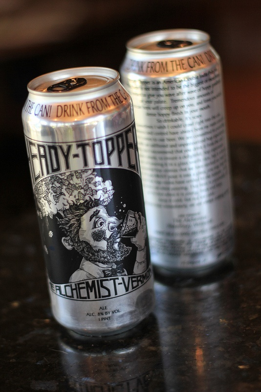 The best beer in America? Hard pressed to find better. The Alchemist Heady Topper, Imperial IPA