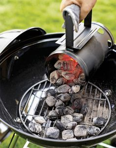 Summer Grilling Tips from Jillie....a must read before using charcoal grill.....