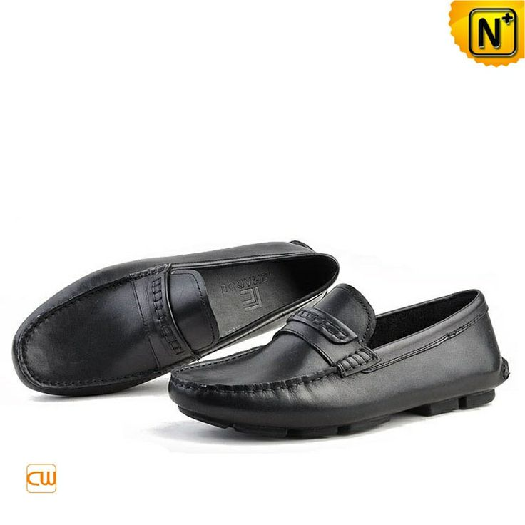 Mens Slip-on Leather Driving Shoes Loafers CW740306 $118.89 - www.cwmalls.com