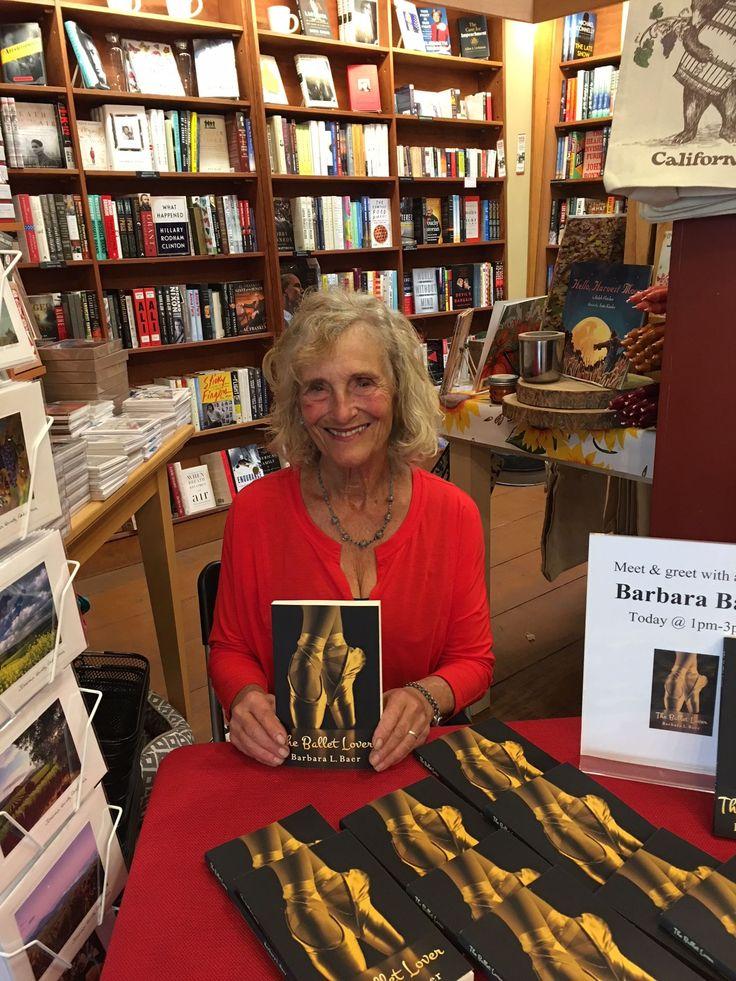 The Ballet Lover author Barbara L. Baer met readers at Copperfield's in Healdsburg on November 4.