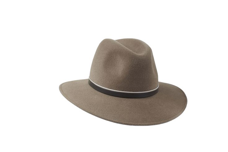 Penmayne of London - Willow Fedora in Mink | Beige & Taupe Leather Band www.penmayne.com #fedora #hats #accessories