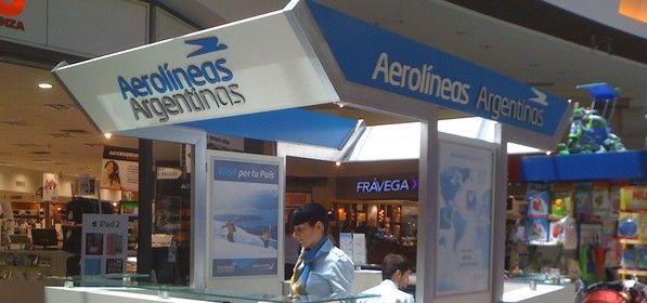 """Aerolíneas Argentinas inaugura nuevo local de venta de pasajes en el """" Dot Buenos Aires Shopping"""""""