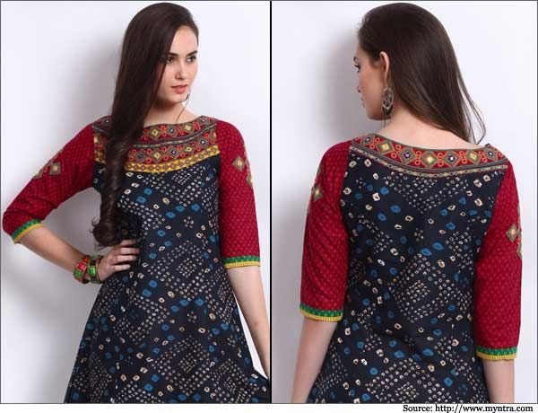 Best Simple Kurti Designs Ideas On Pinterest Kurti Designs - Latest churidar neck designs for stitching