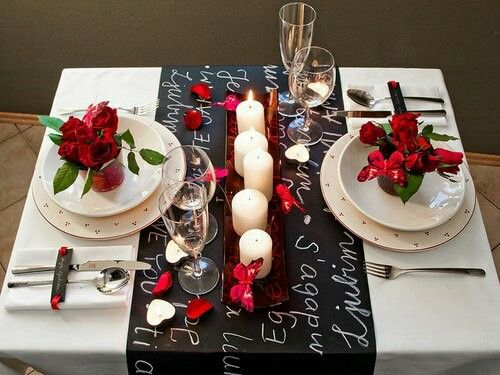 26 Irreplaceable Romantic Diy Valentine S Day Table Decorations Romantic Dinnersromantic Ideasa