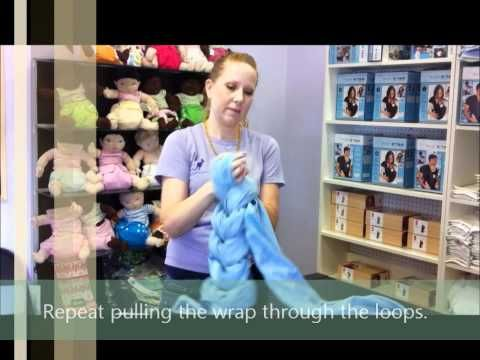 ▶ How to Braid a Woven Wrap - YouTube