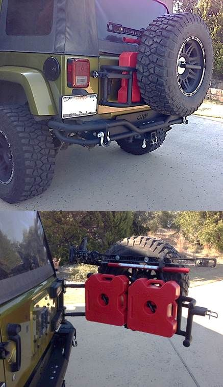 New bumper, and tire carrier with rotopax and jack mount.  If you are a Jeep Lover, check out this Jeep collection, you may like it :)  https://etsytshirt.com/jeep  #jeep #jeeplovers #ilovejeep