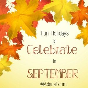 Celebrate September Holidays - AdenaF