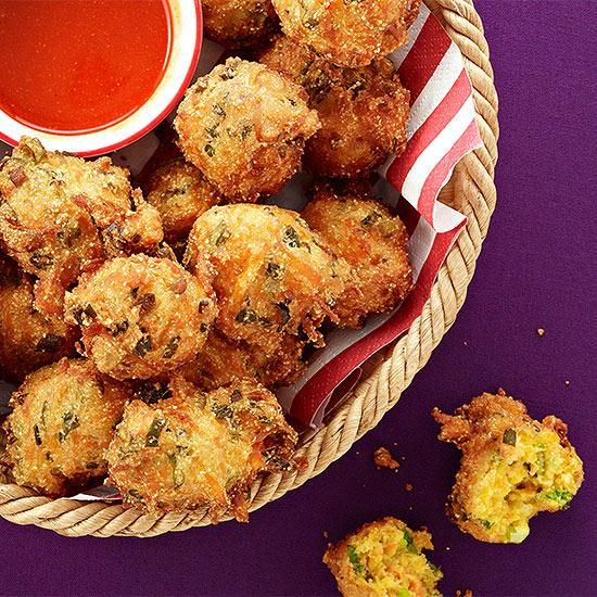 Fast Idea Friday Scallion Hush Puppies (With images