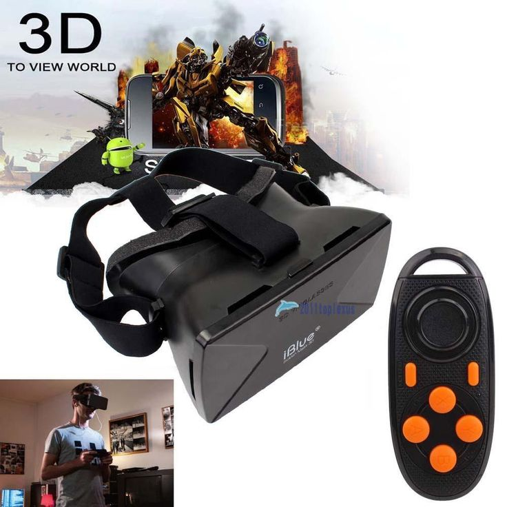 Virtual Reality VR 3D Glasses for Phone Google Cardboard + Controller Gamepad TL #UnbrandedGeneric
