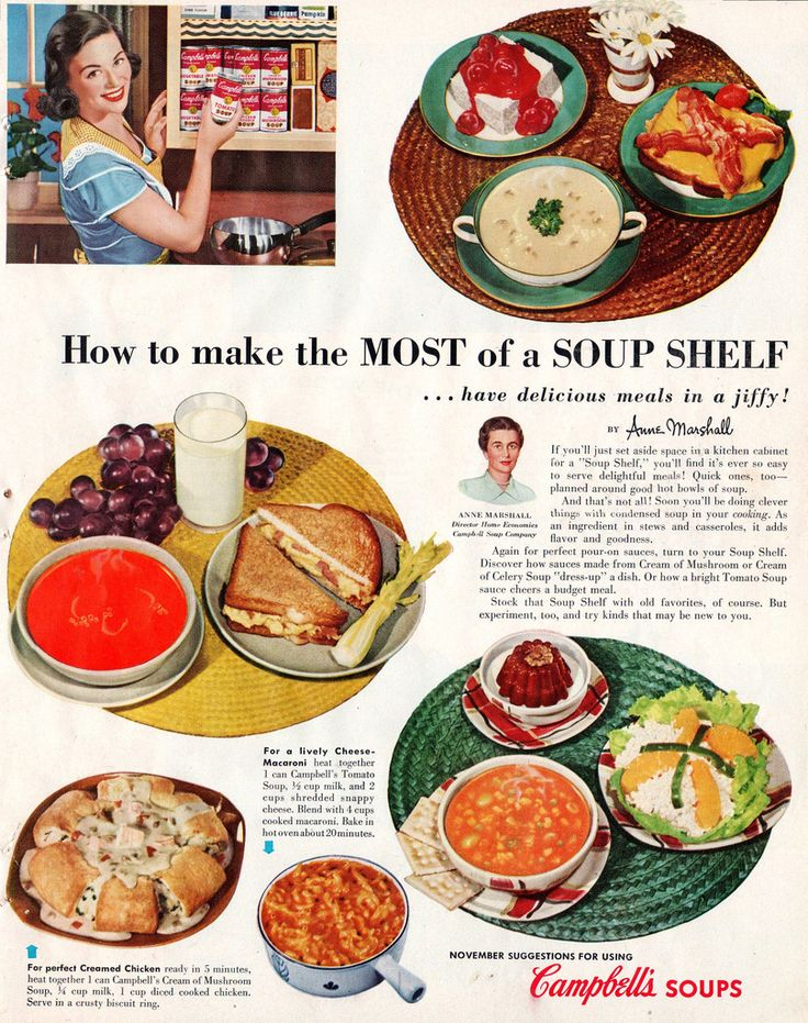 How To Make The Most Of A Soup Shelf. Have Delicious Meals In A Jiffy!
