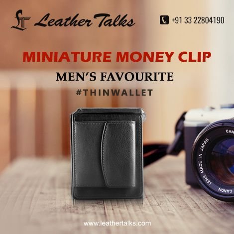 A #genuineleather mini wallet to keep all your cash safe. Provided with a separate pouch at the back to stash coins.  #designeduniquely #extremelylightonweight  http://leathertalks.com/product/miniature-money-clip/