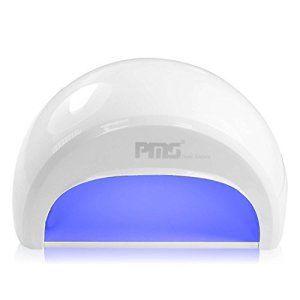 PMS® Sèche Ongles Lampe LED 12W pour Gel LED et Vernis LED avec Minuterie de 30s Gel capteur automatique