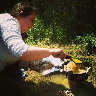 Enjoy the sun and use a hobo stove
