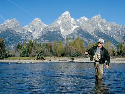 fly fishing in jackson hole   ... in the woodlands mountains and fraternity of wildlife in jackson