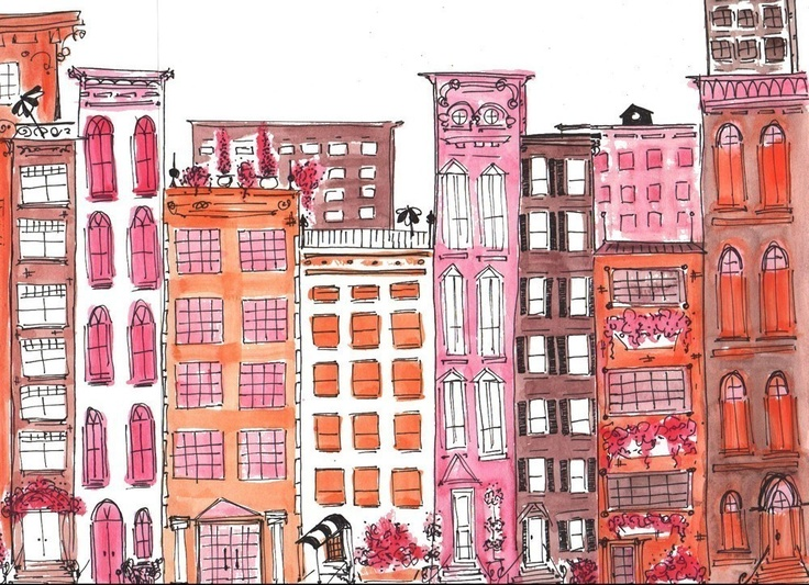 coloring pages brownstone - photo#12