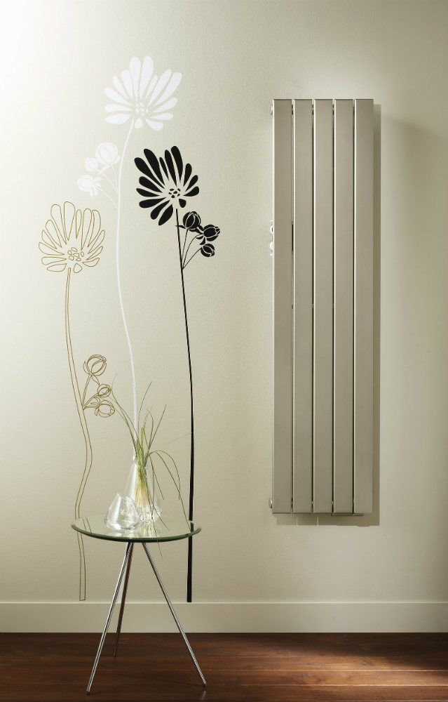 Zehnder Fassane Radiator Vertical Electric White