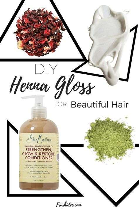 Henna Gloss To Make Your Hair Soft And Shiny In 30 Minutes Hair