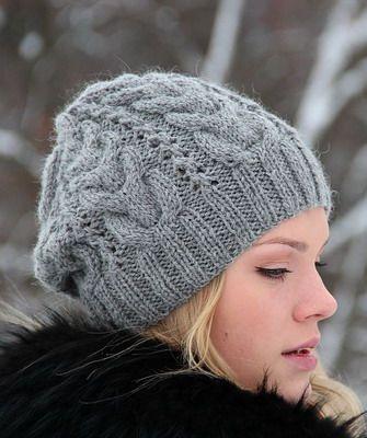 Стильные вязаные шапки для женщин на 2015 год выполняются спицами и крючком