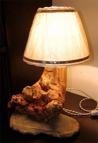 Oltre 25 fantastiche idee su lampade in legno su pinterest - Lampade da tavolo fai da te ...