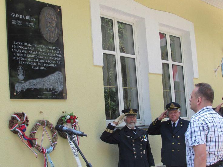 Emléktáblát kapott a fiumei kikötő tervezője | sarospatak.hu