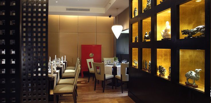 Sophisticated interiors enhanced by exquisite jade carvings adorning the walls create a subtle modernity making this restaurant the perfect setting for a truly delectable Chinese meal dished out by a Chinese chef.