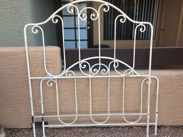 Rod iron Bed Frame!