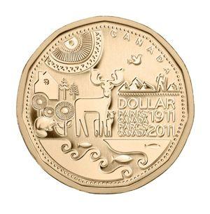Canadian Coin Collection: 2011 - Parks Canada Centennial