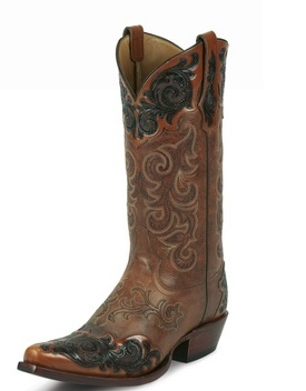 Tony Lama - All Guys Boots  Bourbon Bomber