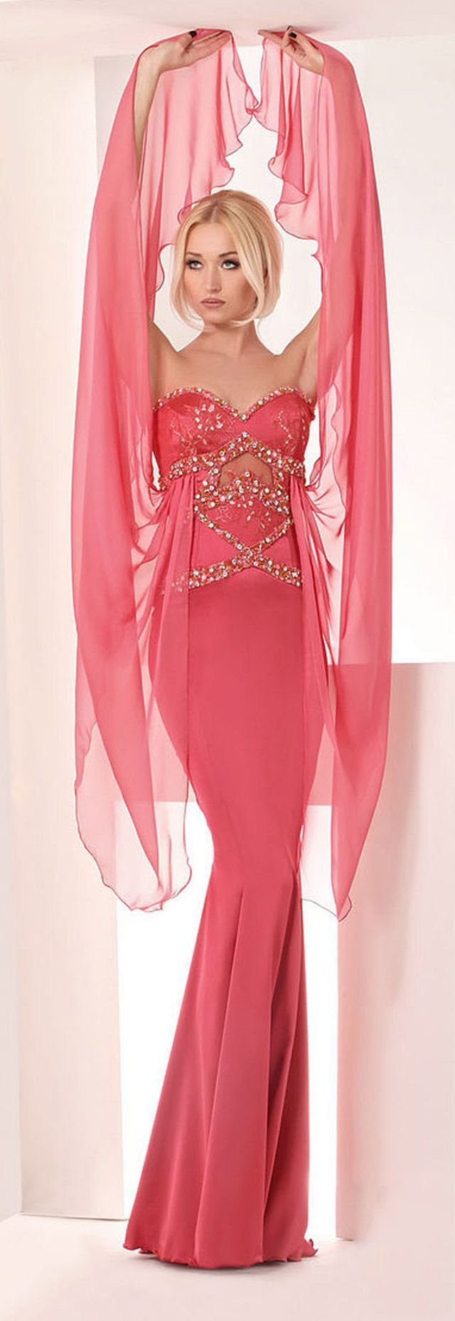 607 best BEAUTIFUL PINK GOWNS AND DRESSES VOL 2 images on Pinterest ...