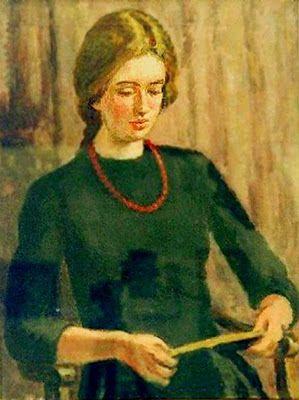 Vanessa Bell (Great Britain 1879 - 1961), Amaryllis, 1950