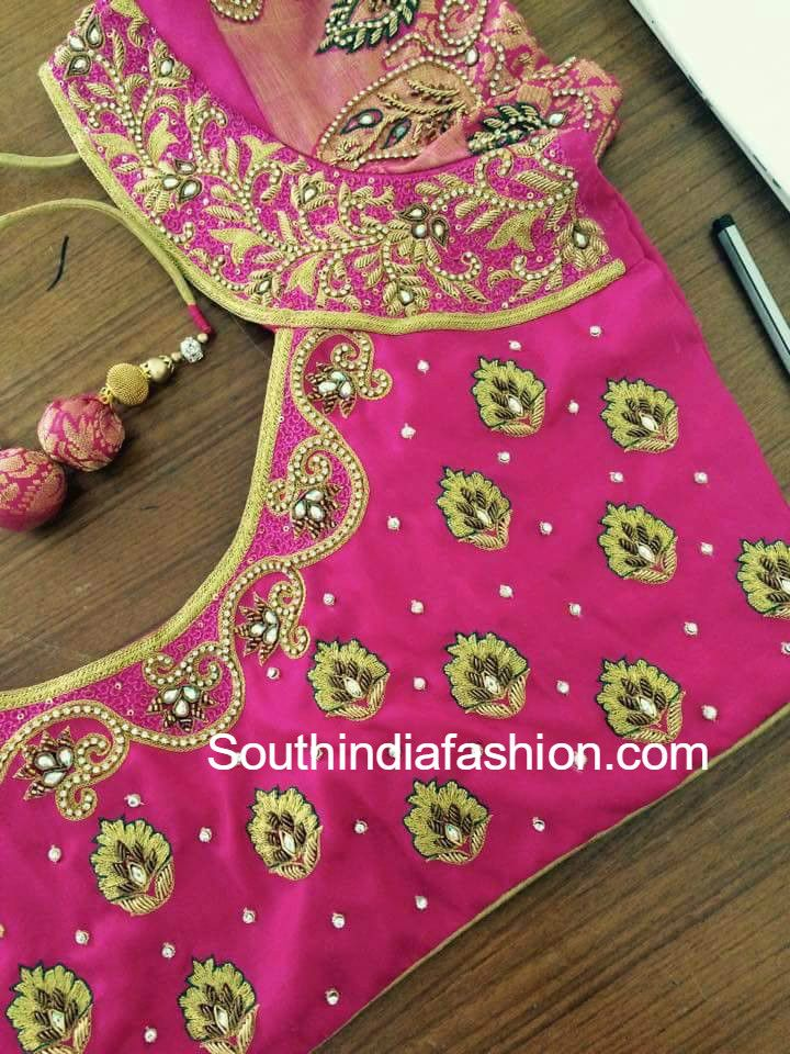 pattu_saree_blouse_designs-1.jpg (720×960)