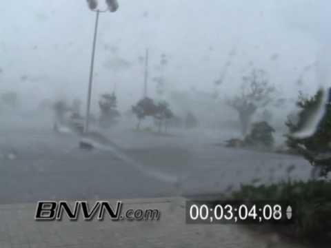 ▶ 8/13/2004 Hurricane Charley Video Part 5 - Charley Hits Punta Gorda, Florida - YouTube
