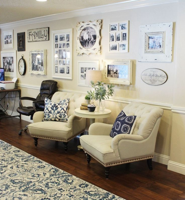 How To Decorate A Large Wall With Style Family Room Walls
