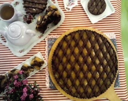 Receta: Ximena Saenz/Pastafrola de chocolate y batata/Cocineros Argentinos