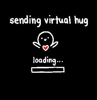 how to send a virtual hug
