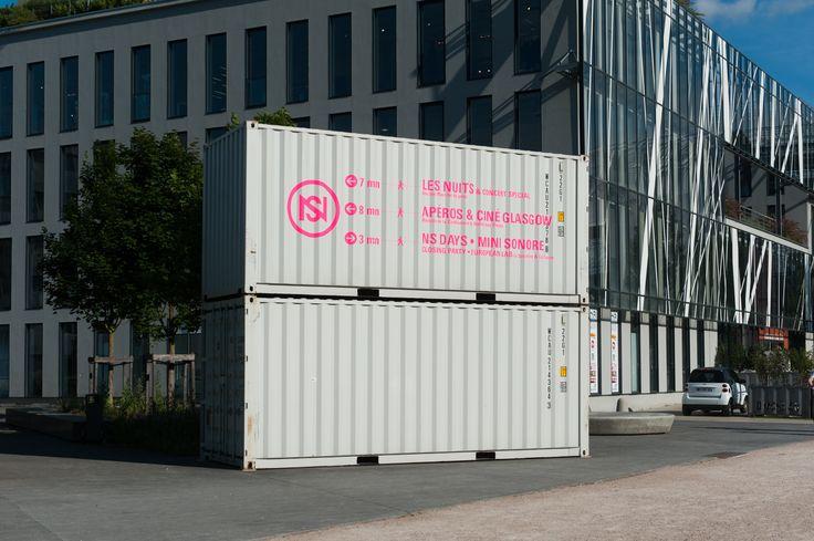 36 best capsa event images on pinterest lyon container for Maison container lyon