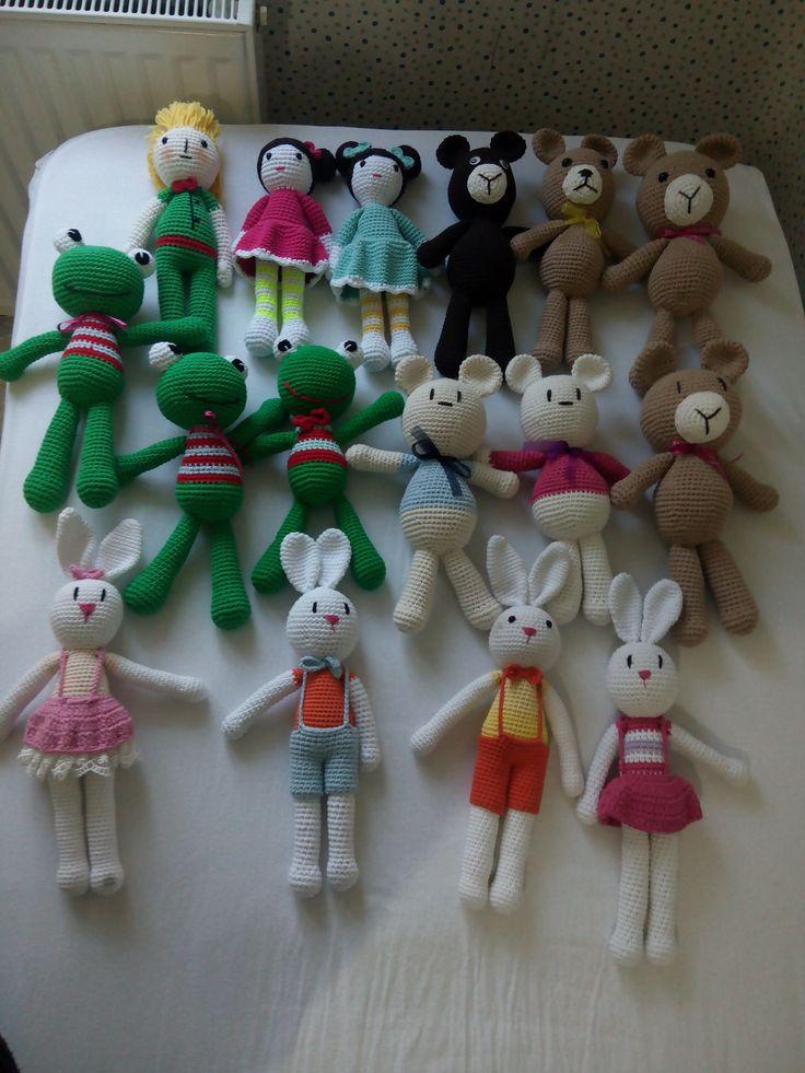 amigurumi, örgü oyuncak, pattern, crochet, tığişi, toys