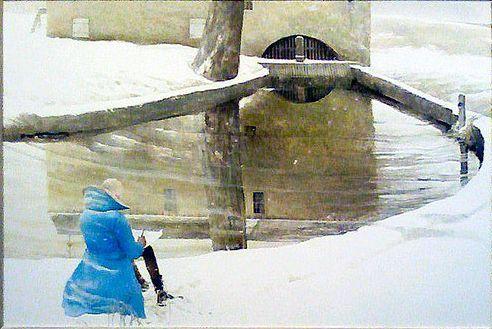 """Andrew Wyeth - """"Me"""" - 2007"""