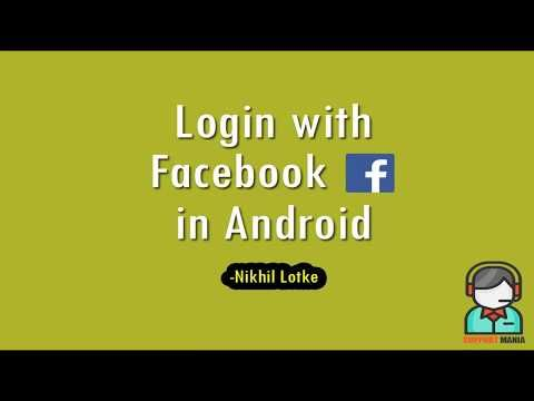 (1) Tutorial - Facebook (FB) integration in Android – using Android Studio - YouTube