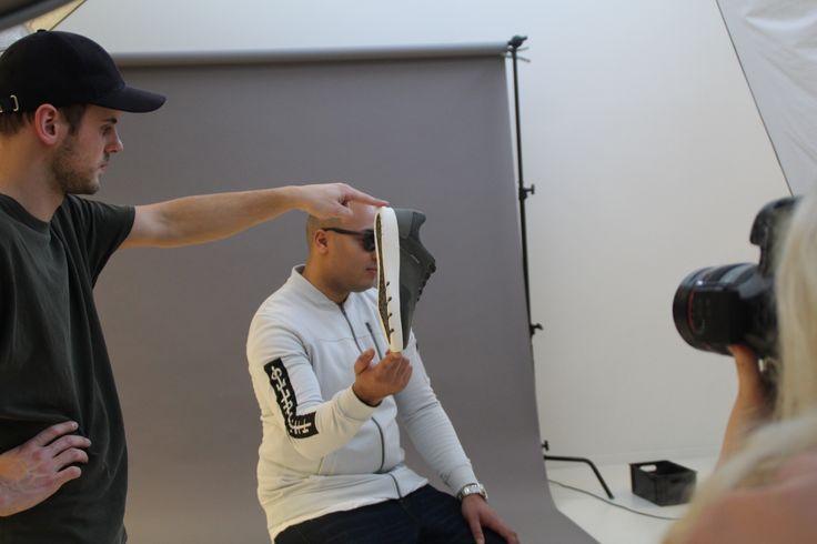 Behind the scenes - photoshoot with Mario Brouwer #influencer #footwear #shoes #sneakers #trainers #menstyle #jackandjones