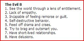 Evil 8 from Life Code: The New Rules for Winning in the Real World by Dr. Phil McGraw.