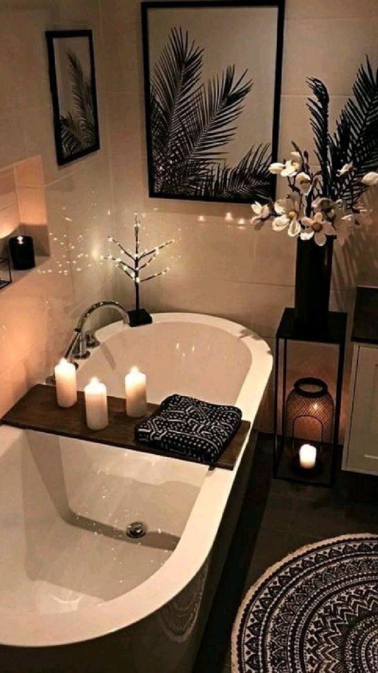 Cozy Bathroom, Diy Bathroom Decor, Bathroom Design Small, Bathroom Interior Design, Bathroom Ideas, Natural Bathroom, Bathroom Organization, Bathroom Designs, Rental Bathroom
