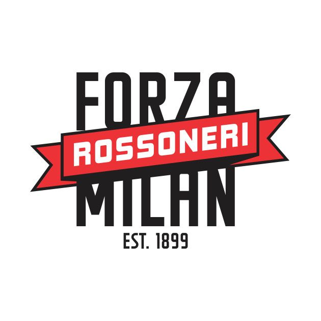 Check Out This Awesome Forza Milan Design On Teepublic Ac Mailand Mailand