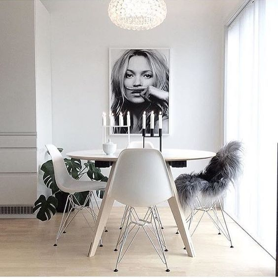 10 Frame ideas that will convince you Kate Moss is so cool in home deco