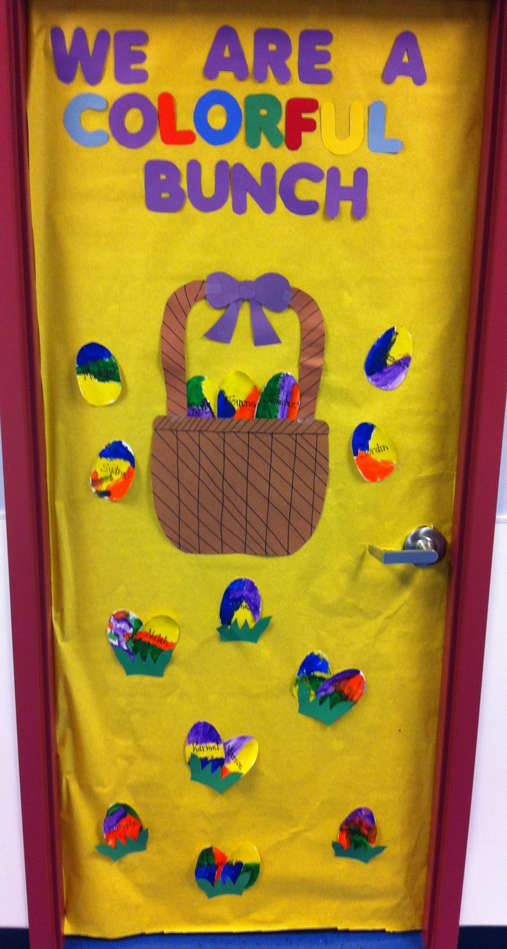 Easter Classroom Decor : Best easter door ideas images on pinterest